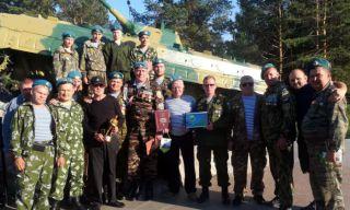 В  Каменск-Уральский приехали десантники из Новгородской области