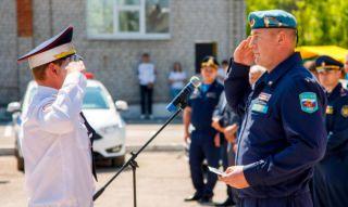 Награждение медалью 90 лет ВДВ работников ГИБДД