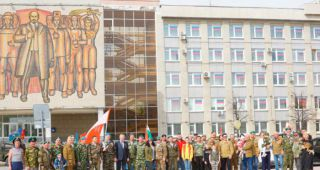 День Победы 2021 в Каменске-Уральском, часть 1 (большая фотогалерея)