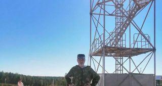 Десантники Каменска-Уральского и кадеты ВПК Крылатая Гвардия отреставрировали парашютную вышку