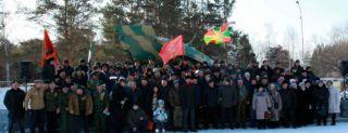 Митинг памяти погибших при исполнении воинского долга прошел в Каменске-Уральском на Аллее Славы