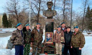 Митинг памяти генерала Маргелова