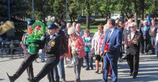 В день памяти небесного покровителя Каменска-Уральского в городе вспомнили защитников Отечества.