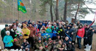 Десантники Каменска-Уральского устроили для своих семей праздник Весны (видео)